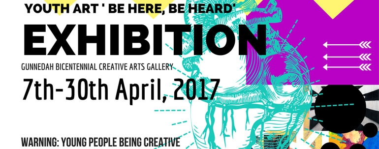 Youth Art 'Be here, Be Heard' Exhibition 2017