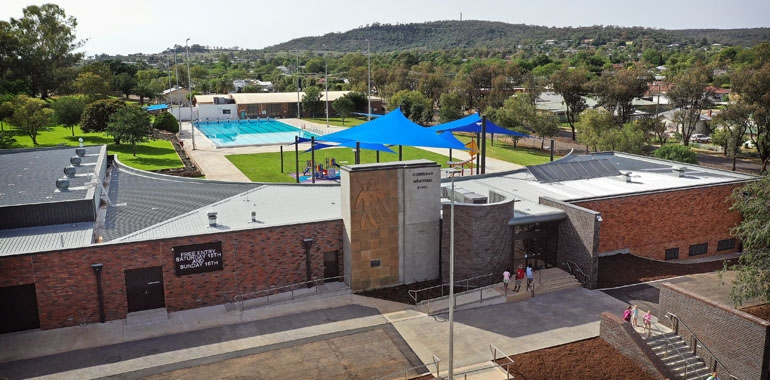 Gunnedah Memorial Pool Complex – Winter period