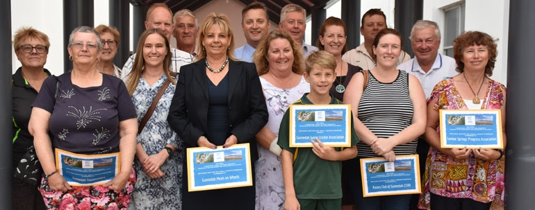 Funding boost for community and sporting groups