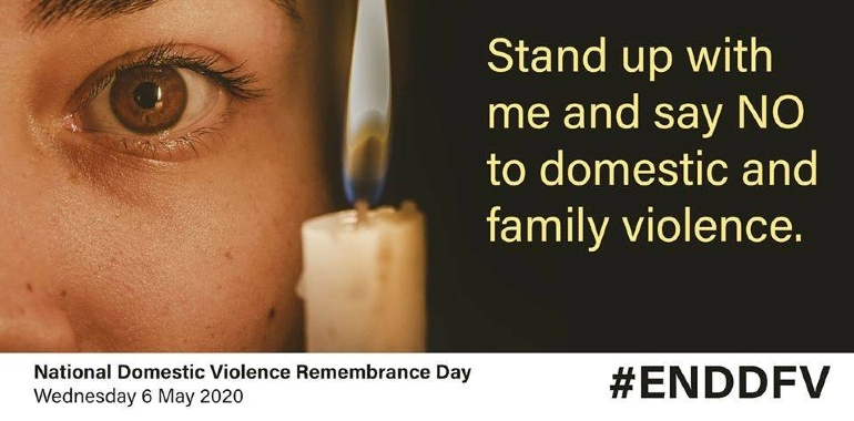 Stand up and say no to domestic and family violence