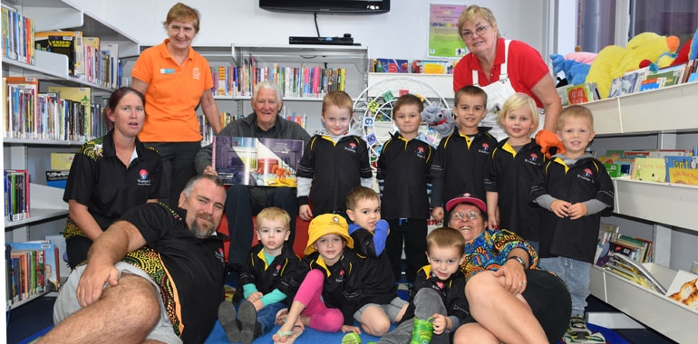 Gunnedah Shire Library participates in National Simultaneous Storytime