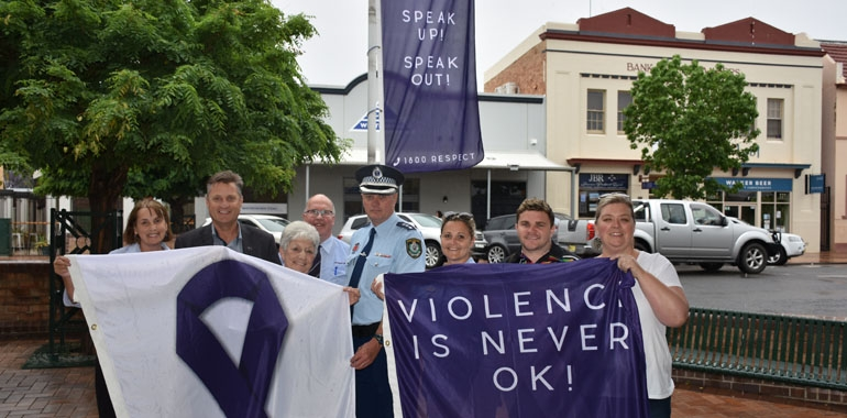 Funding helps to share message: Gunnedah says no to violence