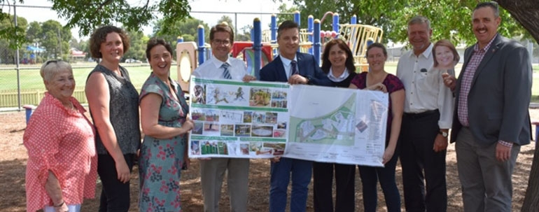Inclusive playground given $850,000 boost from State Government