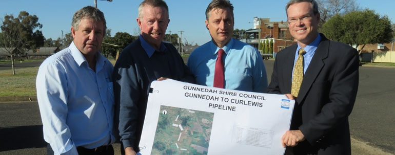Gunnedah Shire Council welcomes funding for Curlewis Pipeline Project